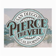 Pierce The Veil San Diego California Small Glasses Cloth (2 Side) by Samandel
