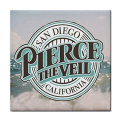 Pierce The Veil San Diego California Face Towel