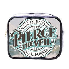 Pierce The Veil San Diego California Mini Toiletries Bags