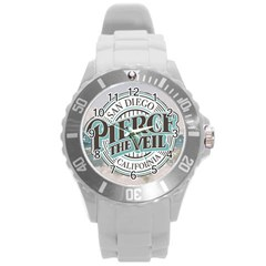Pierce The Veil San Diego California Round Plastic Sport Watch (l) by Samandel