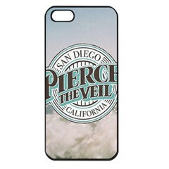 Pierce The Veil San Diego California Apple Iphone 5 Seamless Case (black) by Samandel