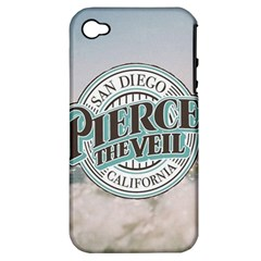 Pierce The Veil San Diego California Apple Iphone 4/4s Hardshell Case (pc+silicone)