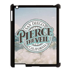 Pierce The Veil San Diego California Apple Ipad 3/4 Case (black) by Samandel