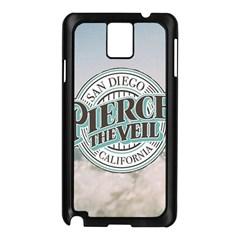 Pierce The Veil San Diego California Samsung Galaxy Note 3 N9005 Case (black)