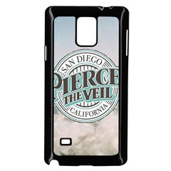 Pierce The Veil San Diego California Samsung Galaxy Note 4 Case (black)