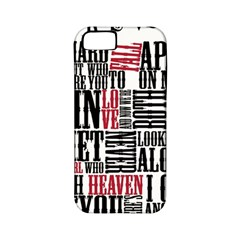 Pierce The Veil Hell Above Lyrics Poster Apple Iphone 5 Classic Hardshell Case (pc+silicone)
