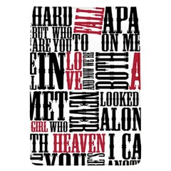 Pierce The Veil Hell Above Lyrics Poster Flap Covers (s)  by Samandel