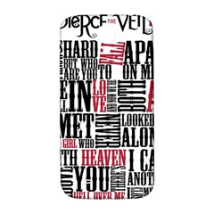 Pierce The Veil Hell Above Lyrics Poster Samsung Galaxy S4 I9500/i9505  Hardshell Back Case