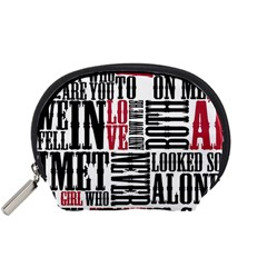 Pierce The Veil Hell Above Lyrics Poster Accessory Pouches (small)