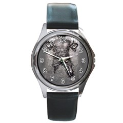 Han Solo Han Round Metal Watch