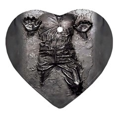 Han Solo Han Heart Ornament (two Sides)