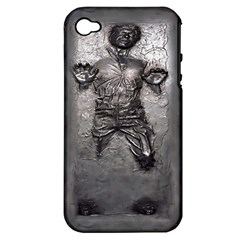 Han Solo Han Apple Iphone 4/4s Hardshell Case (pc+silicone)