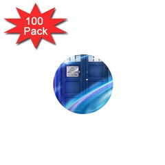 Tardis Space 1  Mini Magnets (100 Pack)