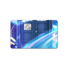 Tardis Space Magnet (name Card)