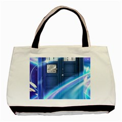 Tardis Space Basic Tote Bag