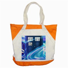 Tardis Space Accent Tote Bag