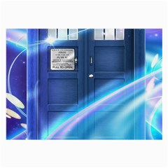 Tardis Space Large Glasses Cloth (2 Side)