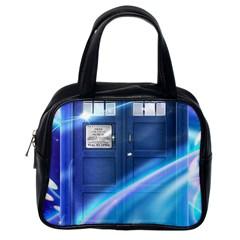 Tardis Space Classic Handbags (one Side)