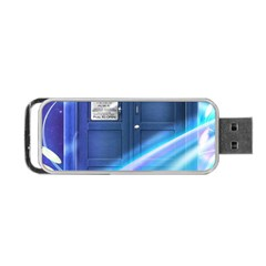 Tardis Space Portable Usb Flash (two Sides) by Samandel