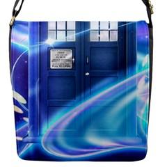 Tardis Space Flap Messenger Bag (s)