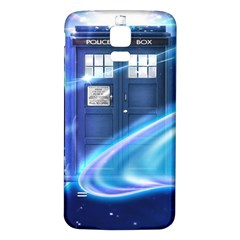 Tardis Space Samsung Galaxy S5 Back Case (white)