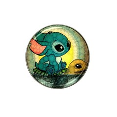 Stich And Turtle Hat Clip Ball Marker (4 Pack)