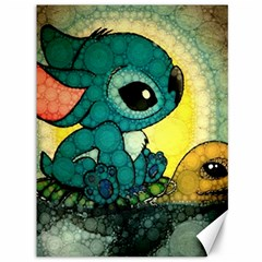 Stich And Turtle Canvas 36  X 48