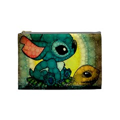 Stich And Turtle Cosmetic Bag (medium)
