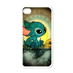 Stich And Turtle Apple Iphone 4 Case (white)