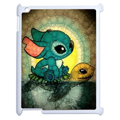 Stich And Turtle Apple Ipad 2 Case (white)