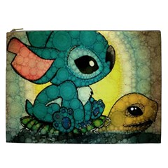 Stich And Turtle Cosmetic Bag (xxl)