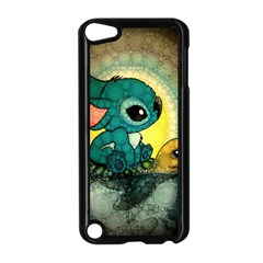 Stich And Turtle Apple Ipod Touch 5 Case (black)