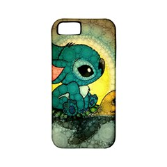 Stich And Turtle Apple Iphone 5 Classic Hardshell Case (pc+silicone)