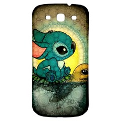 Stich And Turtle Samsung Galaxy S3 S Iii Classic Hardshell Back Case