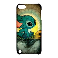 Stich And Turtle Apple Ipod Touch 5 Hardshell Case With Stand