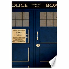Tardis Poster Canvas 20  X 30   by Samandel