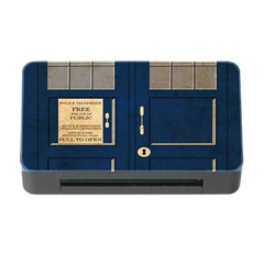 Tardis Poster Memory Card Reader With Cf