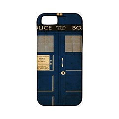 Tardis Poster Apple Iphone 5 Classic Hardshell Case (pc+silicone) by Samandel