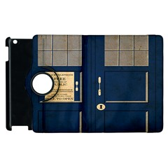 Tardis Poster Apple Ipad 2 Flip 360 Case
