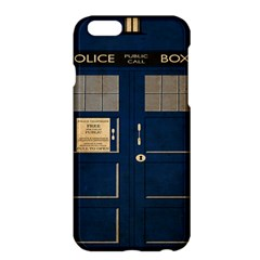Tardis Poster Apple Iphone 6 Plus/6s Plus Hardshell Case