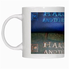 Comic Collection Book White Mugs