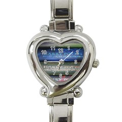 Comic Collection Book Heart Italian Charm Watch by Samandel