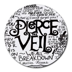 Pierce The Veil Round Mousepads