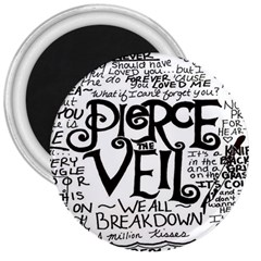 Pierce The Veil 3  Magnets by Samandel
