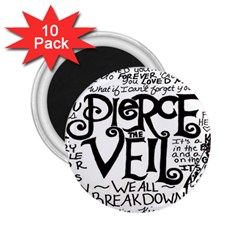 Pierce The Veil 2 25  Magnets (10 Pack)