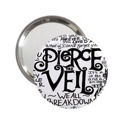 Pierce The Veil 2 25  Handbag Mirrors