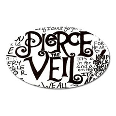 Pierce The Veil Oval Magnet