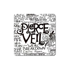 Pierce The Veil Square Magnet by Samandel