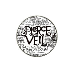 Pierce The Veil Hat Clip Ball Marker (4 Pack)