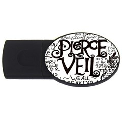 Pierce The Veil Usb Flash Drive Oval (4 Gb)